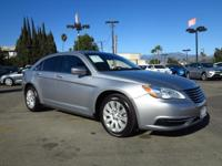 This 2014 Chrysler 200 LX has ONLY 30,054 miles which