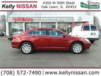 Exterior Color: red, Body: Sedan, Engine: 2.4L I4 16V
