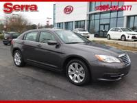2014 Chrysler 200 Touring FWD 6-Speed Automatic 2.4L