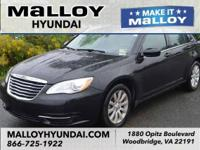 Black Clearcoat 2014 Chrysler 200 Touring FWD 4-Speed