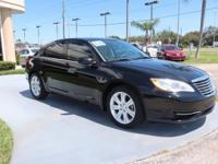 New Price! Black 2014 Chrysler 200 Touring FWD 6-Speed