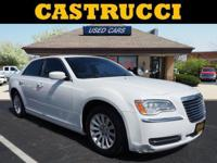 Recent Arrival!   White 2014 Chrysler 300 RWD 8-Speed