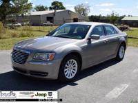 Pewter Gray 2014 Chrysler 300 RWD 8-Speed Automatic