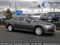Options:  2014 Chrysler 300 Base|Gray|Why Pay More For