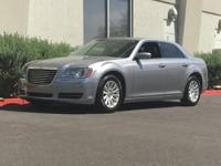 New Price! Clean CARFAX. Silver 2014 Chrysler 300 RWD