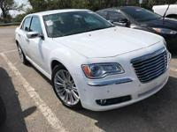 Bright White Clearcoat 2014 Chrysler 300C RWD 8-Speed