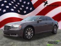 Gray 2014 Chrysler 300 S RWD 8-Speed Automatic 3.6L