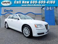CARFAX One-Owner. White 2014 Chrysler 300 AWD 8-Speed