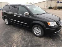 black Leather. 2014 Chrysler Town & Country Limited 4D