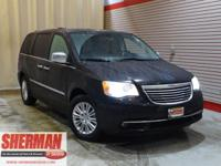 PREMIUM & KEY FEATURES ON THIS 2014 Chrysler Town &