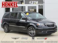 Options:  2014 Chrysler Town & Country S|Brilliant
