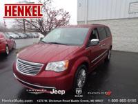 Options:  2014 Chrysler Town & Country Touring-L|Deep