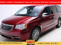 Chrysler Town  &  Country Touring-L 2014 Certified.