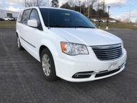 Clean CARFAX. White 2014 Chrysler Town & Country