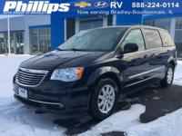 2014 Chrysler Town Country Touring True Blue Pearlcoat