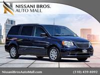 Clean CARFAX. Certified. Gray 2014 Chrysler Town &