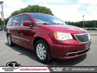 Deep Cherry Red Crystal Pearlcoat 2014 Chrysler Town &