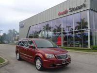 Clean CARFAX. Deep Cherry Red Crystal 2014 Chrysler