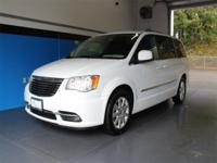 Clean CARFAX. Bright White Clearcoat 2014 Chrysler Town