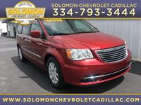 2014 Chrysler Town & Country Touring in Red vehicle