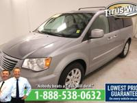 2014 Chrysler Town & Country Silver, Completely