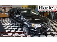 Recent Arrival! Black 2014 Chrysler Town & Country
