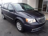 Exterior Color: true blue pearlcoat, Body: Minivan,