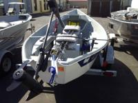 2014 clackacraft 14' with 50lb. minnkota endura max