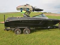 The Super Air Nautique 210 is all-new for 2014 with an