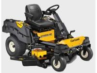 2014 Cub Cadet Z-Force SZ 48 ZERO TURN WITH A STEERING