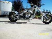 2014 Custom Built Motorcycles Chopper -Clear TitleTitle