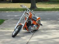 "2014 Custom Build Chopper SoftailEngine: 80"" Motor Evo"