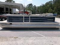 2014 Cypress Cay Seabreeze 230 Tritoon powered by a
