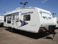 2014 Desert Fox 27FS The Desert Fox Line of Toy Haulers