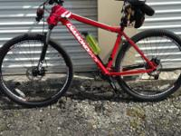 2014 Diamondback mountain bike 29in 21in large frame