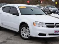 **CLEAN CARFAX** and ***WARRANTY***. Bright White