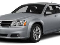2014 Dodge Avenger SE, Bright White Clearcoat/Black, V4
