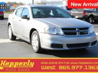 CARFAX One-Owner. This 2014 Dodge Avenger SE in Billet