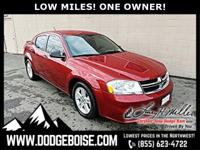 *** LOW MILES *** ONE OWNER *** VALUE PRICED ***IIHS