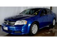 This 2014 Dodge Avenger  has a L4, 2.4L high output