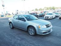 2014 Dodge Avenger SE Billet Silver Metallic Clearcoat