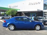 Options:  2014 Dodge Avenger Se|True Blue