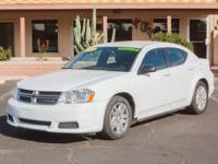 Options:  2014 Dodge Avenger 4D Sedan Se|Bright White