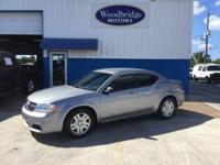 Options:  2014 Dodge Avenger Se|Silver|**One