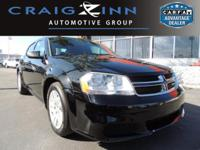 New Arrival! This 2014 Dodge Avenger SE will sell fast