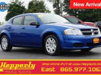 CARFAX One-Owner. This 2014 Dodge Avenger SE in Blue