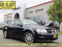 New Price! CARFAX One-Owner. True Blue Pearl 2014 Dodge