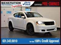 Bright White Clearcoat 2014 Dodge Avenger SXT FWD