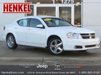 Options:  2014 Dodge Avenger Sxt|Bright White