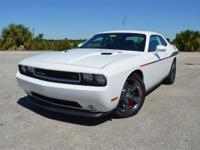 This stylish, one owner Dodge Challenger R/T Redline